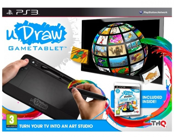 UDRAW GAMETABLET (Inclui INSTANT ARTIST PS3)