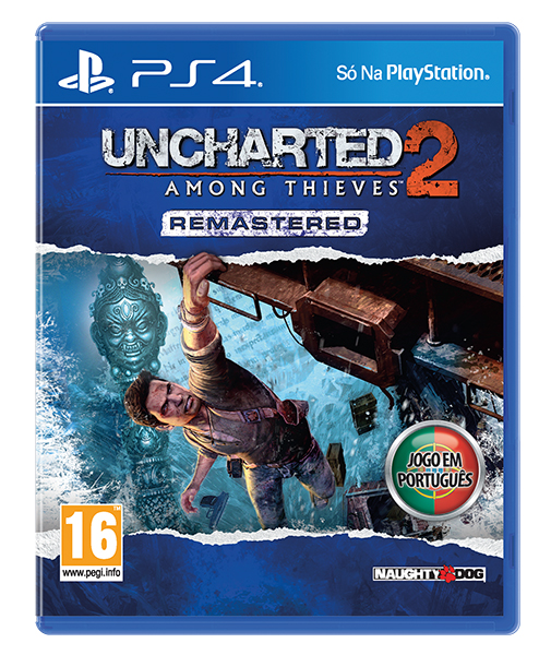 UNCHARTED 2 AMOUNG THIEVES Remastered PS4