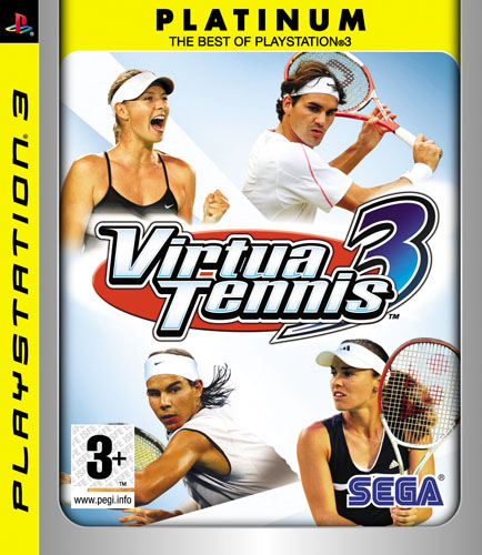 VIRTUA TENNIS 3 Platinum PS3