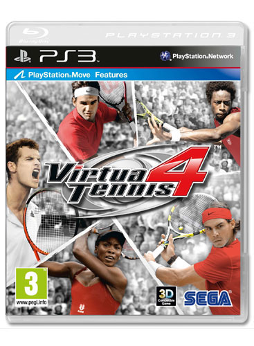 VIRTUA TENNIS 4 Essentials PS3