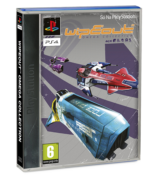 WIPEOUT OMEGA COLLECTION (EM PORTUGUÊS) Capa Clássica PS4
