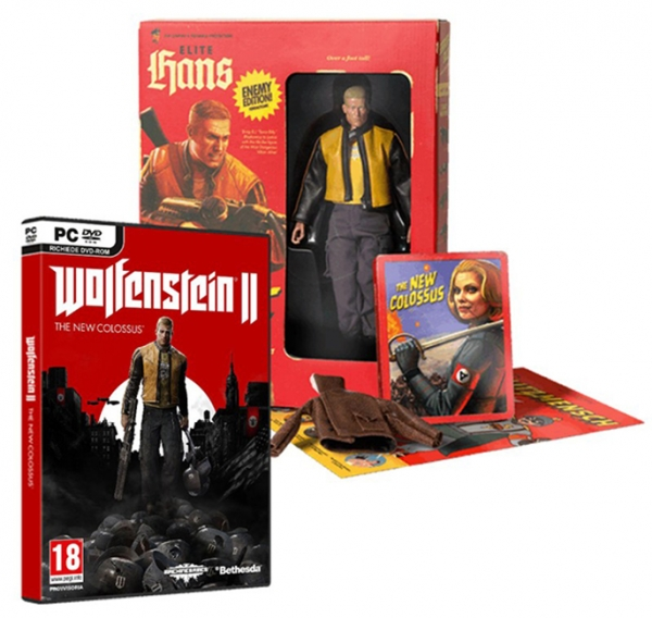 WOLFENSTEIN II THE NEW COLOSSUS Collectors Edition PC