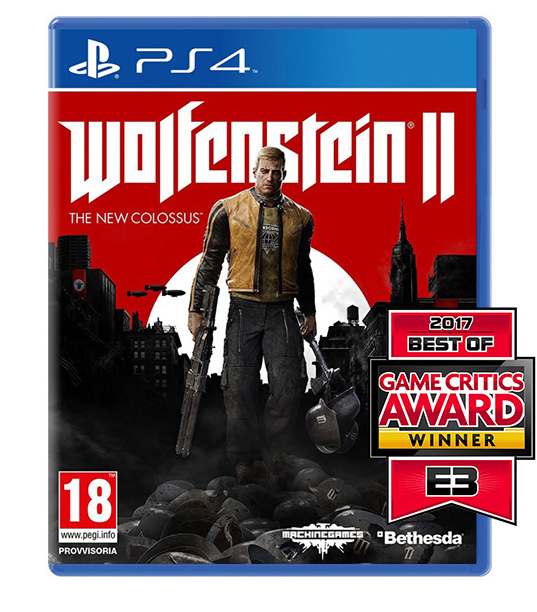 WOLFENSTEIN II THE NEW COLOSSUS (Oferta Banda Sonora) PS4