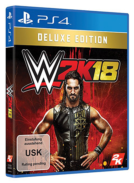 WWE 2K18 Deluxe Edition (Oferta DLC) PS4